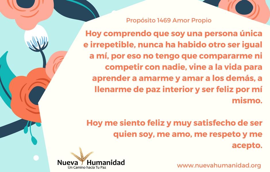 Propósito 1469 Amor Propio