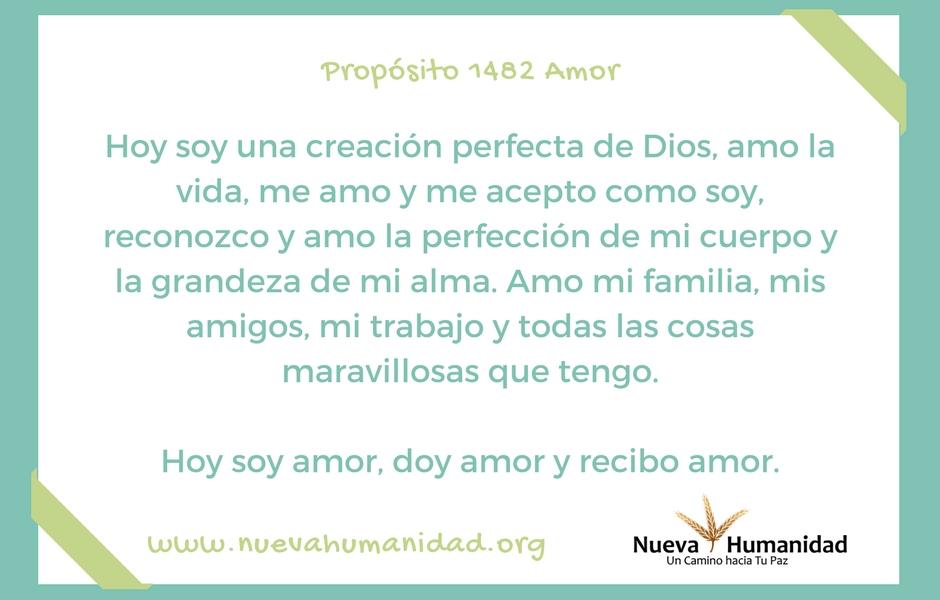 Propósito 1482 Amor