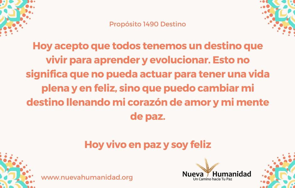 Propósito 1490 Destino