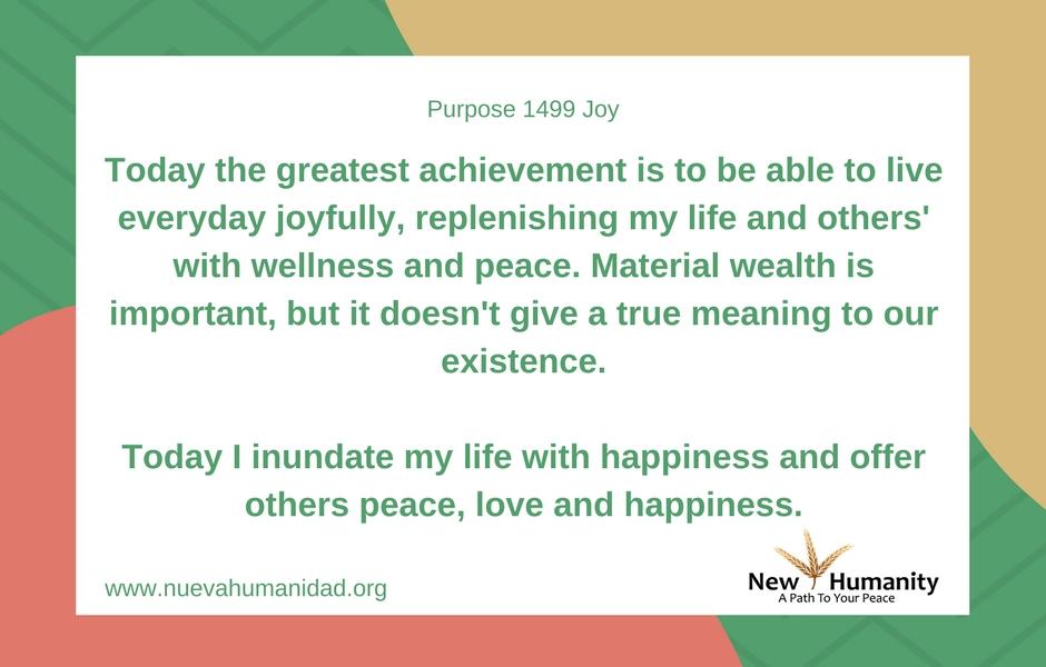 Purpose 1499 Joy