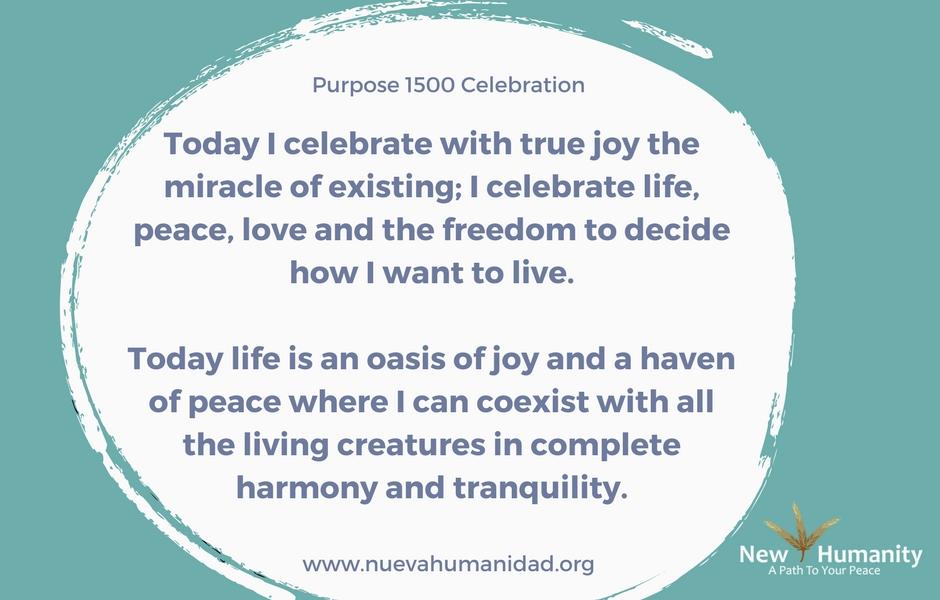 Purpose 1500 Celebration