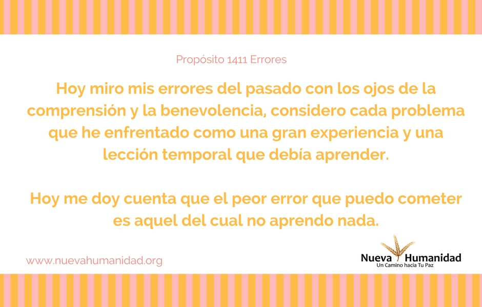 Propósito 1411 Errores