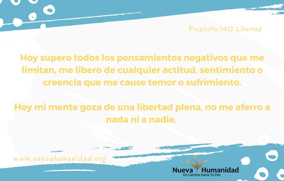 Propósito 1412 Libertad