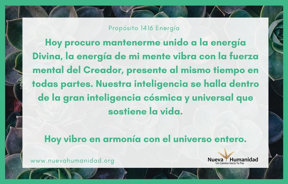 Propósito 1416 Energía