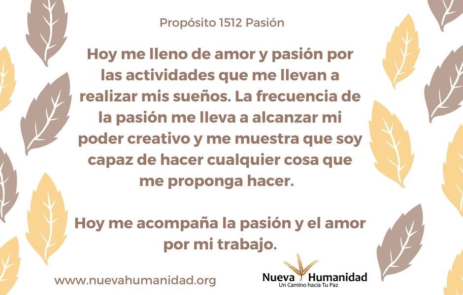 Propósito 1512 Pasión