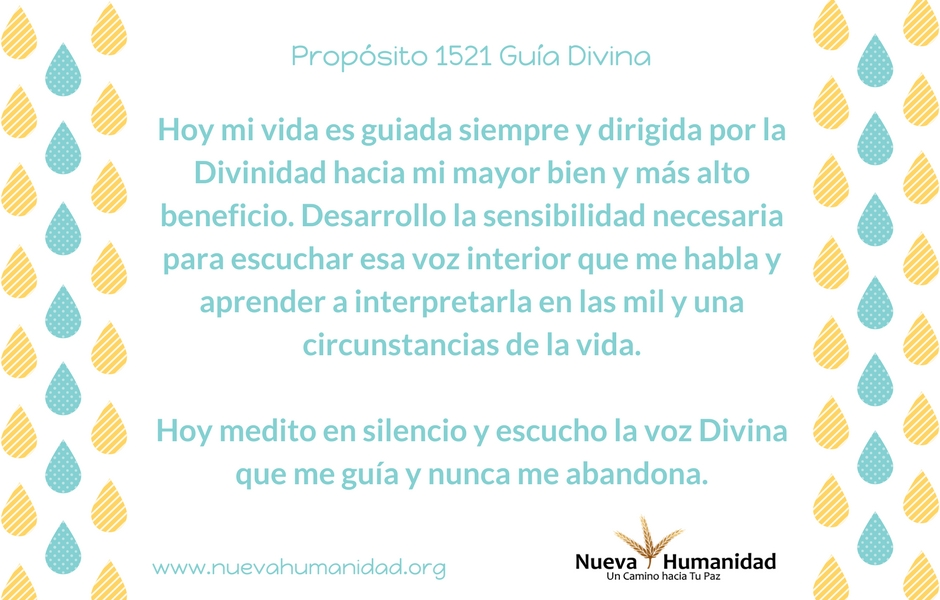 Propósito 1521 Guía Divina