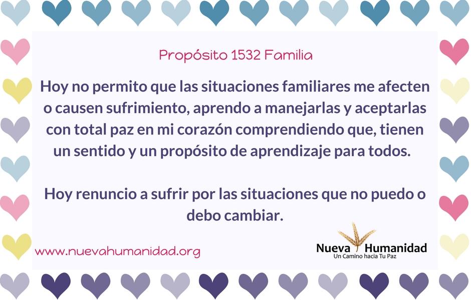 Propósito 1532 Familia