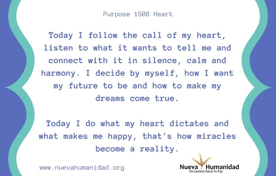 Purpose 1508 Heart