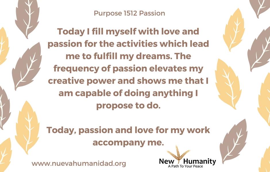 Purpose 1512 Passion