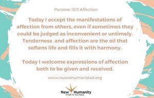 Purpose 1513 Affection