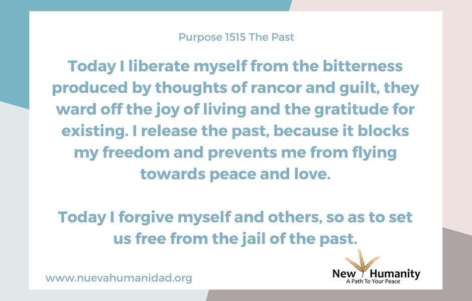 Purpose 1515 The Past