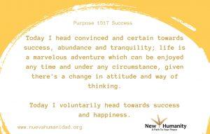 Purpose 1517 Success