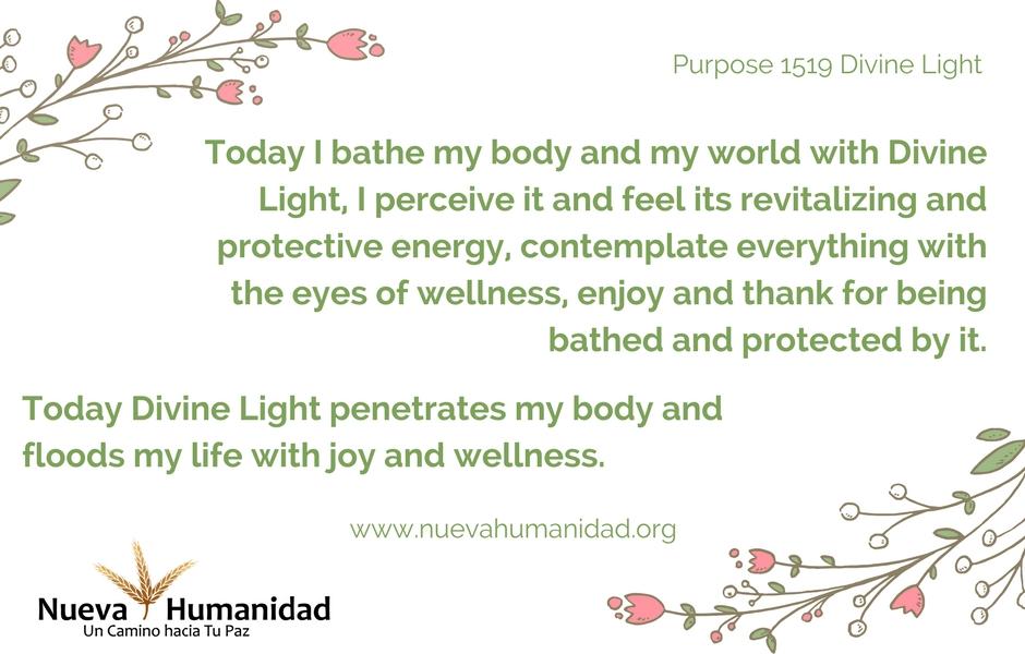 Purpose 1519 Divine Light