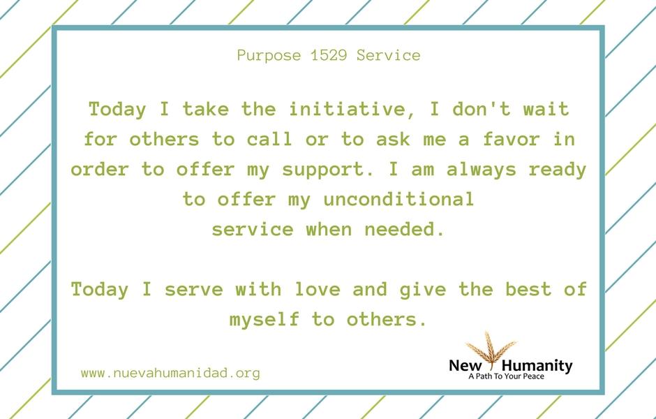 Purpose 1529 Service