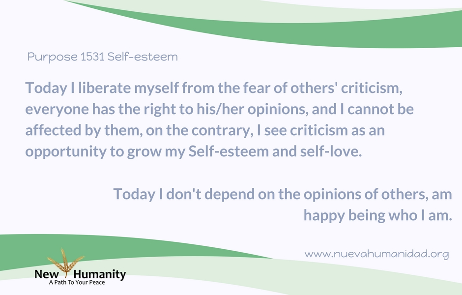 Purpose 1531 Self-esteem