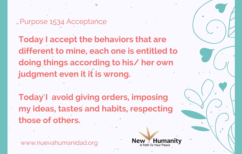 Purpose 1534 Acceptance
