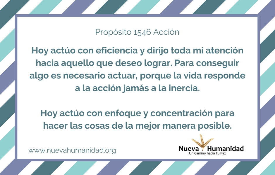 Propósito 1546 Acción