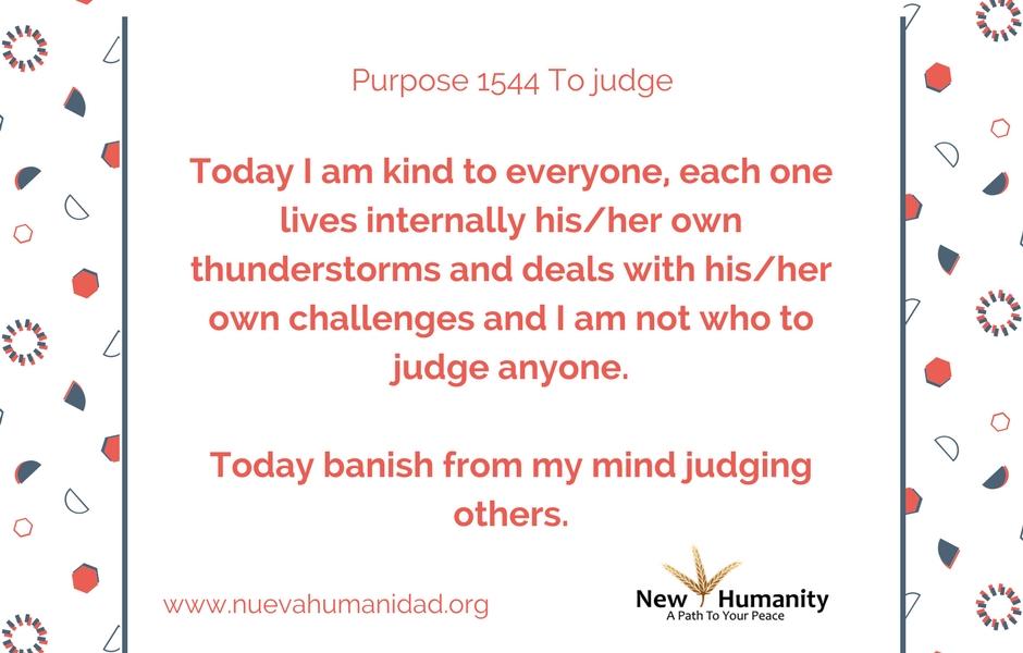 Purpose 1544 To judge