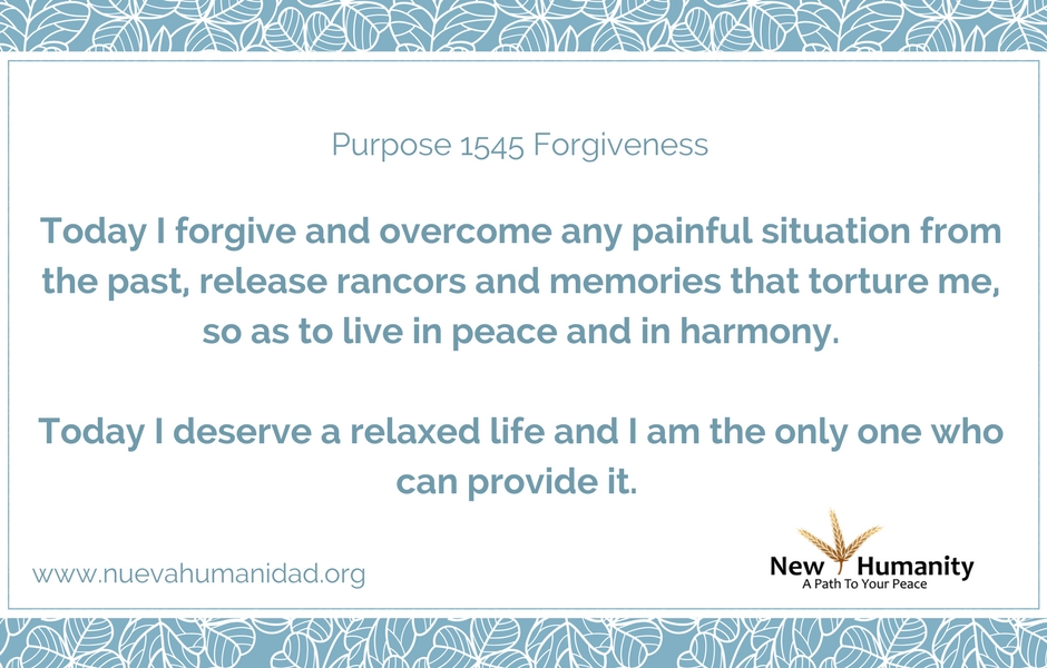 Purpose 1545 Forgiveness