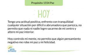 Propósito 1554 Paz