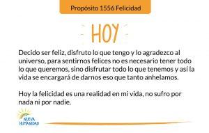 Propósito 1556 Felicidad