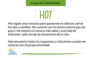 Propósito 1560 Meditar