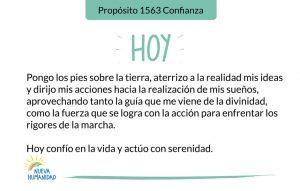 Propósito 1563 Confianza