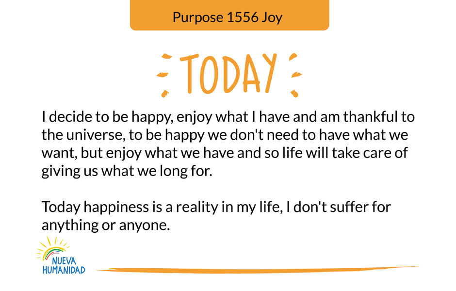 Purpose 1556 Joy