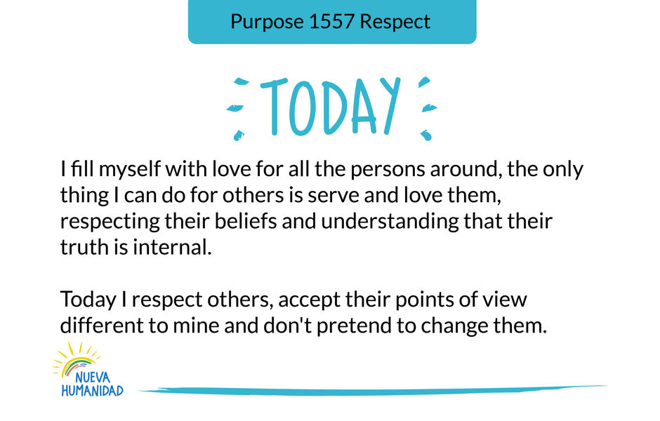 Purpose 1557 Respect