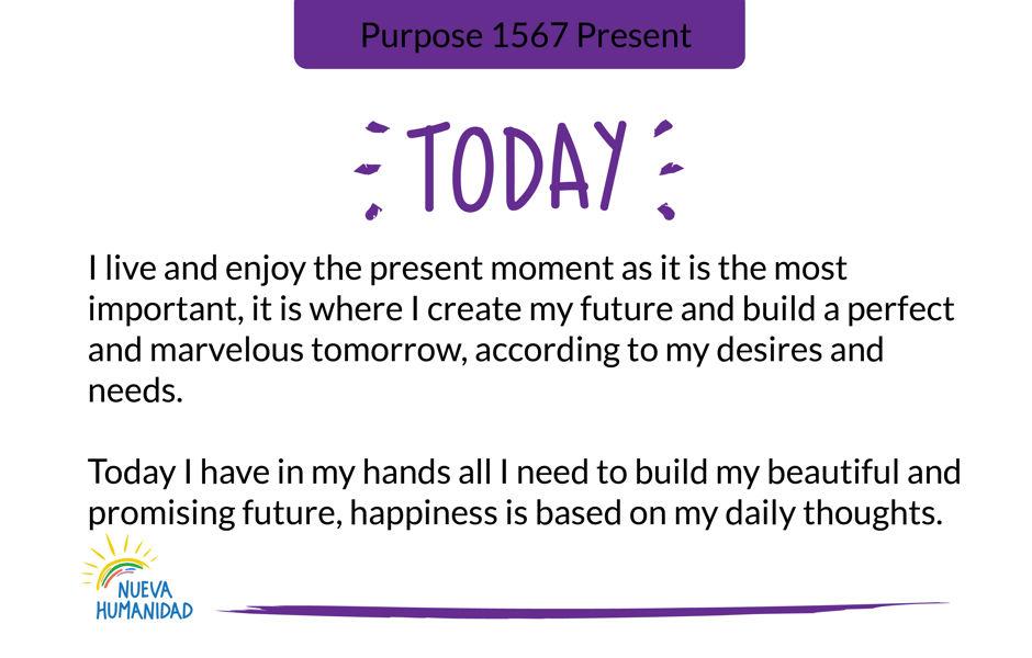 Purpose 1567 Present