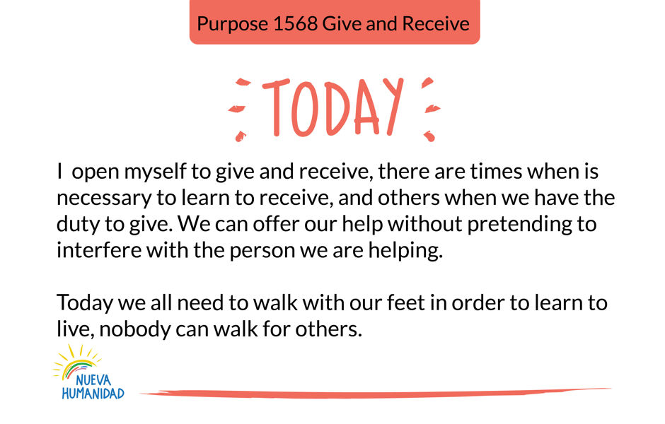Purpose 1568 Give and Receive
