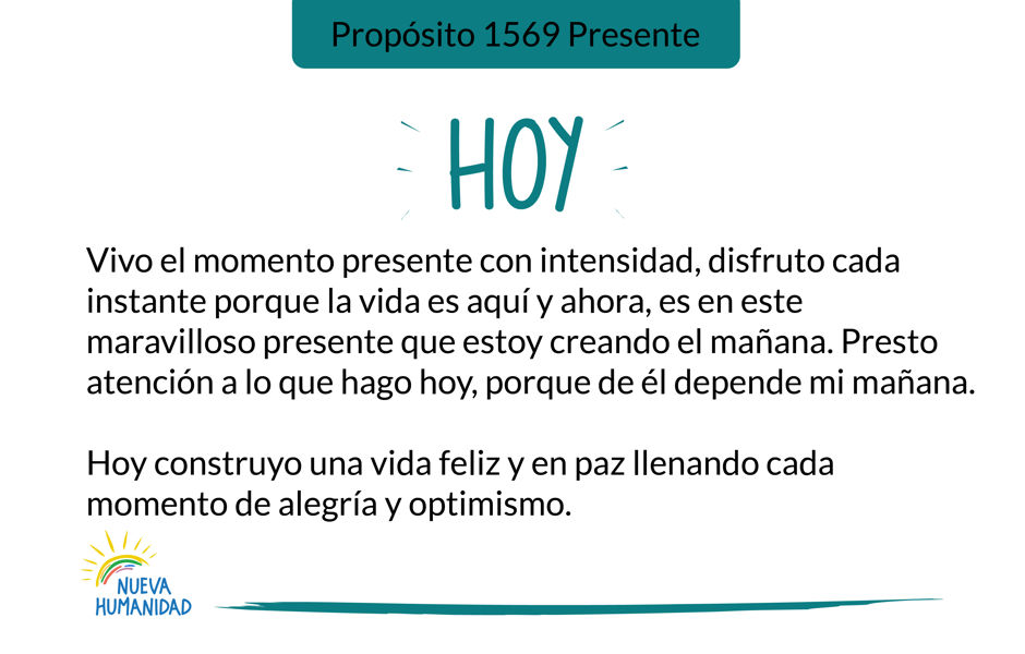 Propósito 1569 Presente