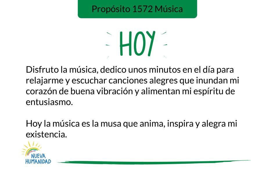 Propósito 1572 Música