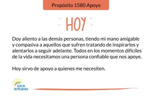 Propósito 1580 Apoyo