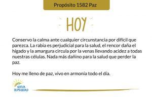 Propósito 1582 Paz