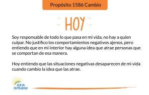 Propósito 1586 Cambio