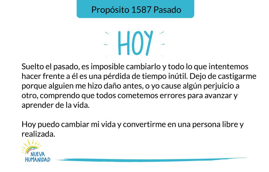 Propósito 1587 Pasado