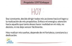 Propósito 1597 Enfoque