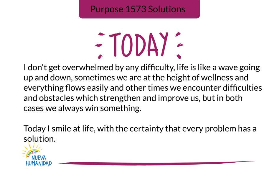 Purpose 1573 Solutions
