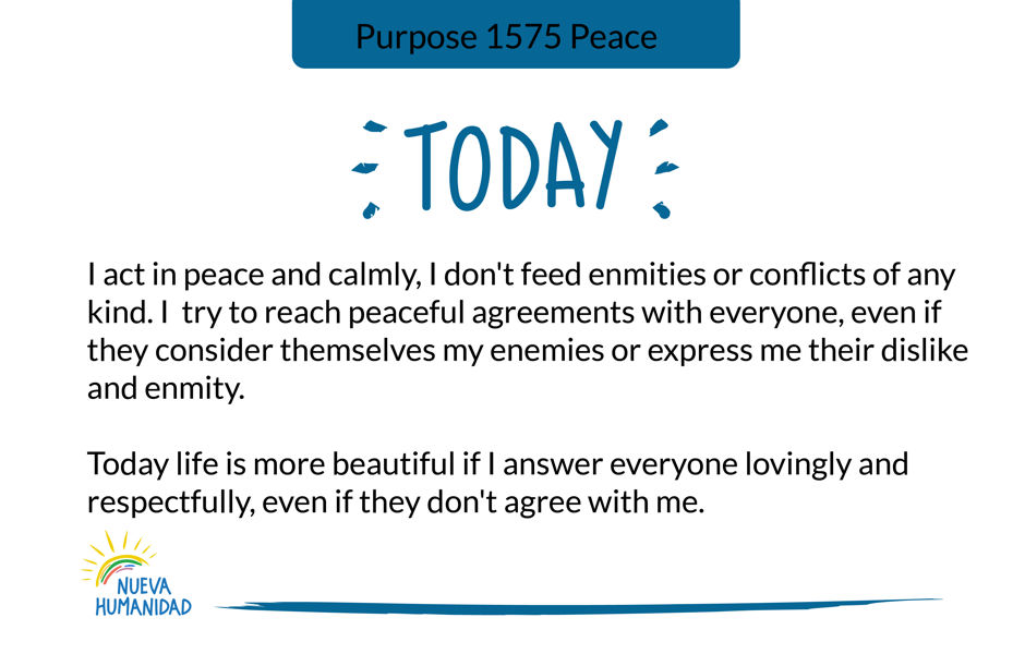 Purpose 1575 Peace