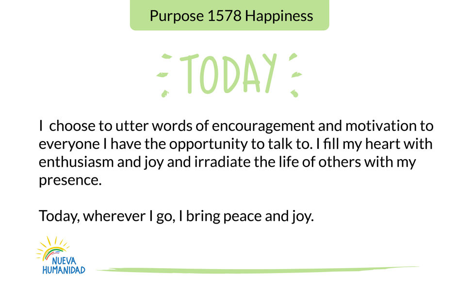 Purpose 1578 Happiness
