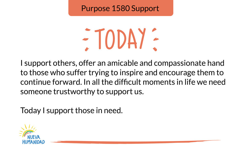 Purpose 1580 Support