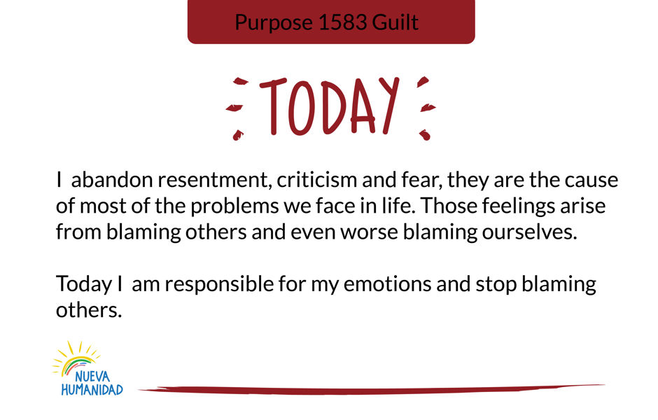 Purpose 1583 Guilt