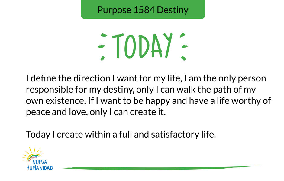 Purpose 1584 Destiny