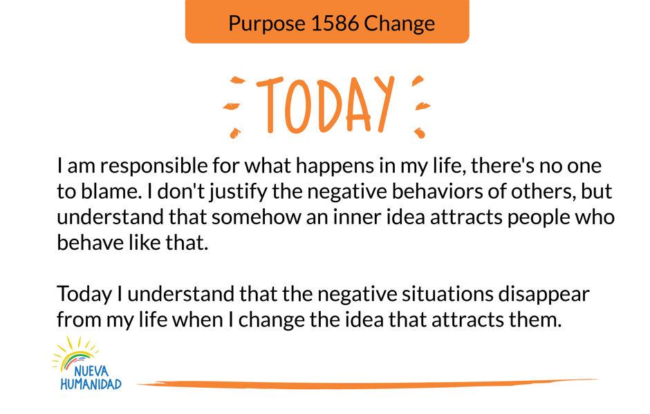 Purpose 1586 Change