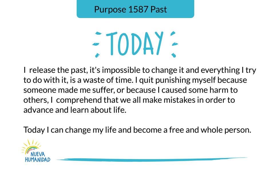 Purpose 1587 Past