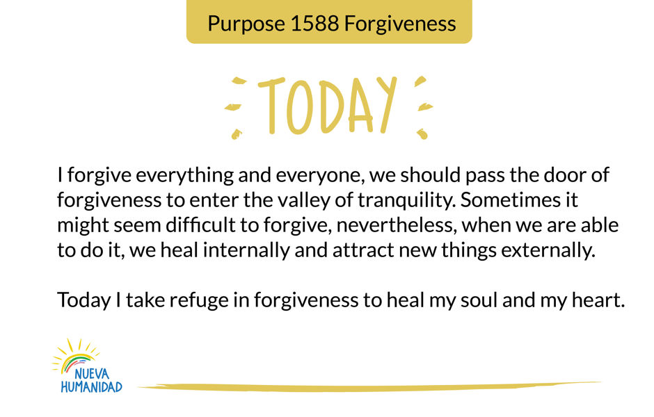 Purpose 1588 Forgiveness