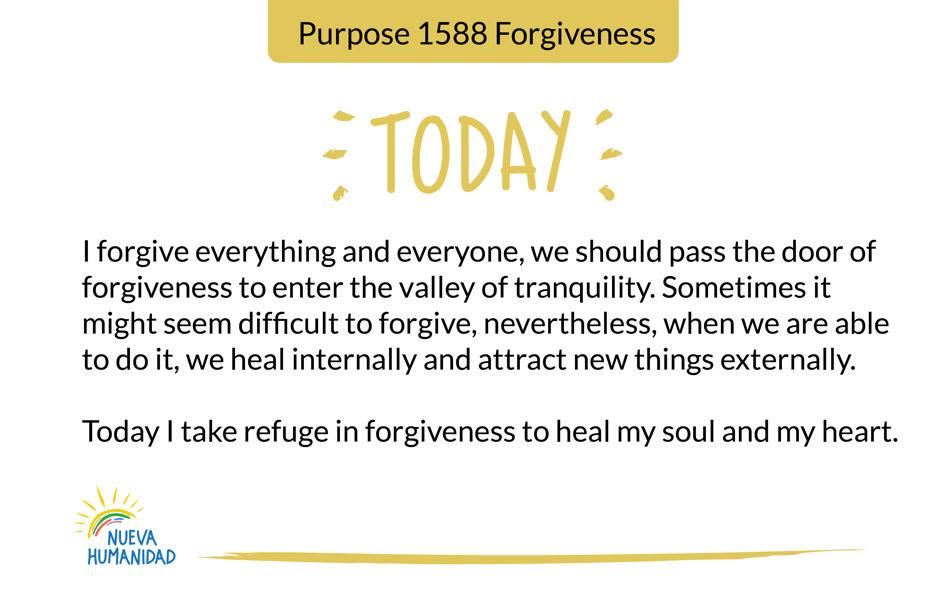 Purpose 1588 Forgiveness