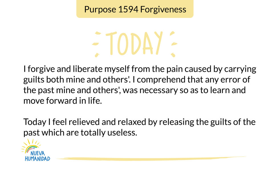 Purpose 1594 Forgiveness
