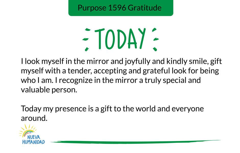 Purpose 1596 Gratitude